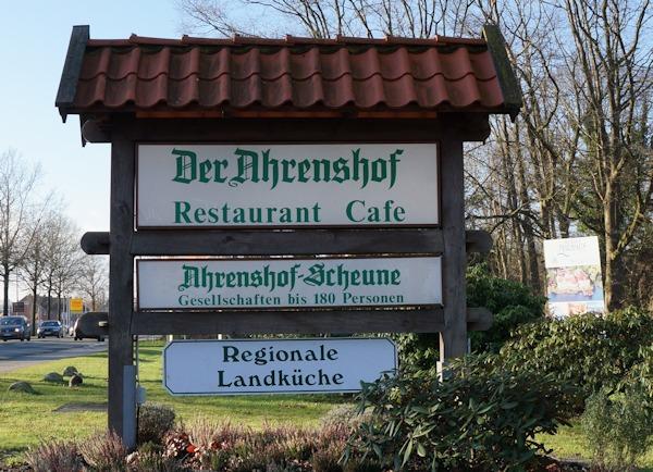 ahrenshof bad zwischenahn restaurant. Black Bedroom Furniture Sets. Home Design Ideas